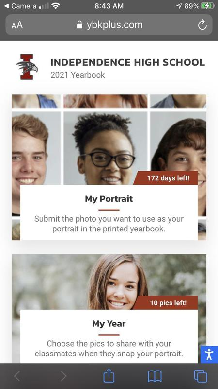 LAST CHANCE! Yearbook needs your headshot and YOU get to take it! (click here) Thumbnail Image