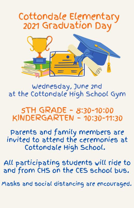 Graduation Schedule is pictured