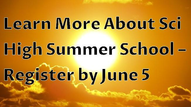 Summer School Information Thumbnail Image