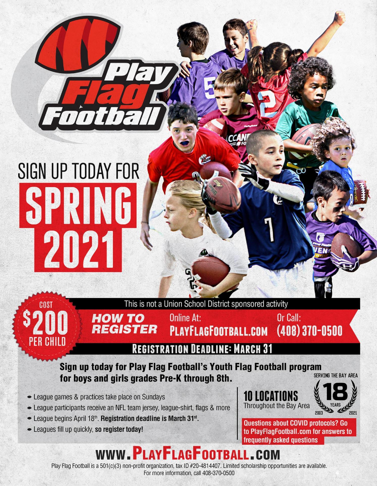Flag Football Spring 2021