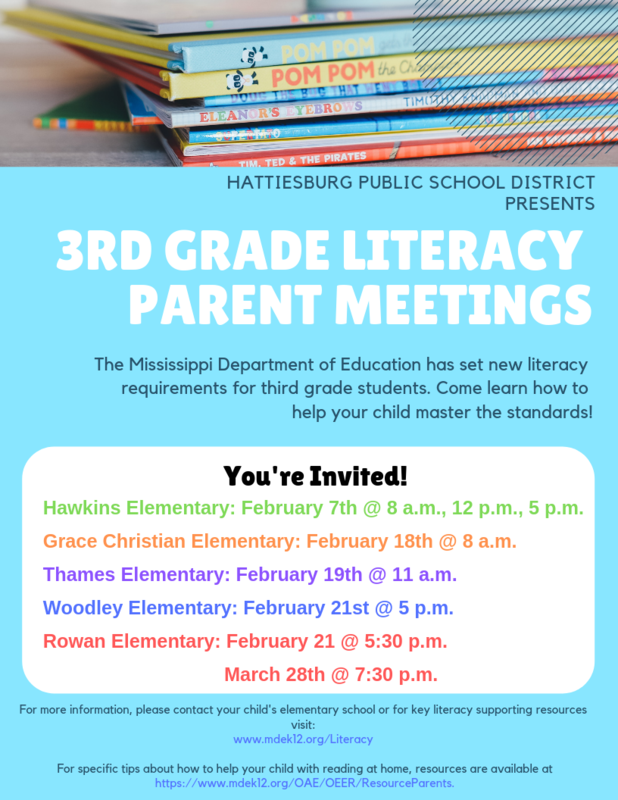 3rd Grade Parent Literacy Meetings Featured Photo