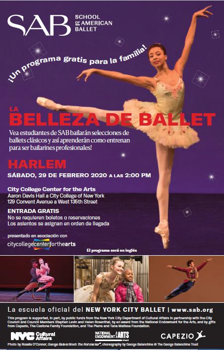 Ballet Flyer Spanish