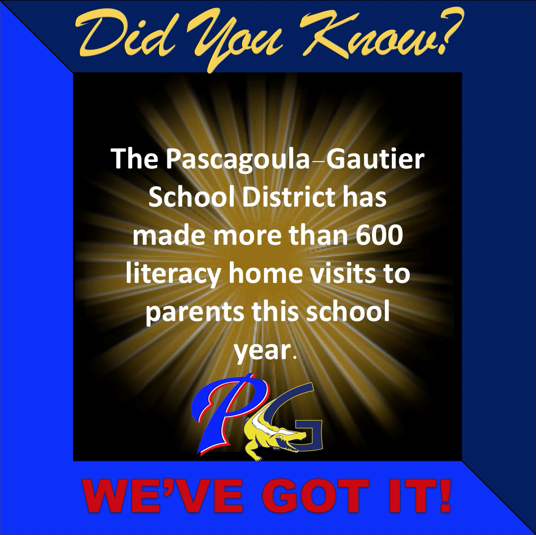 PGSD has made more than 600 literacy home visits to parents this school year.