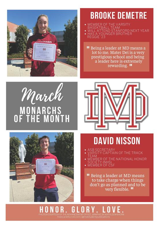 March Monarchs of the Month! Featured Photo