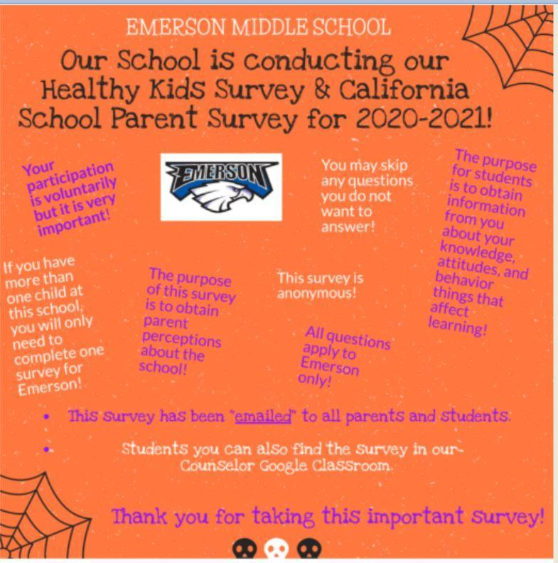 Healthy Kids Survey ENG