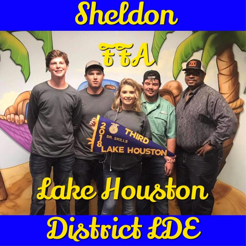 Sheldon FFA students have outstanding showing at Lake Houston LDE, three teams advance to Area Featured Photo