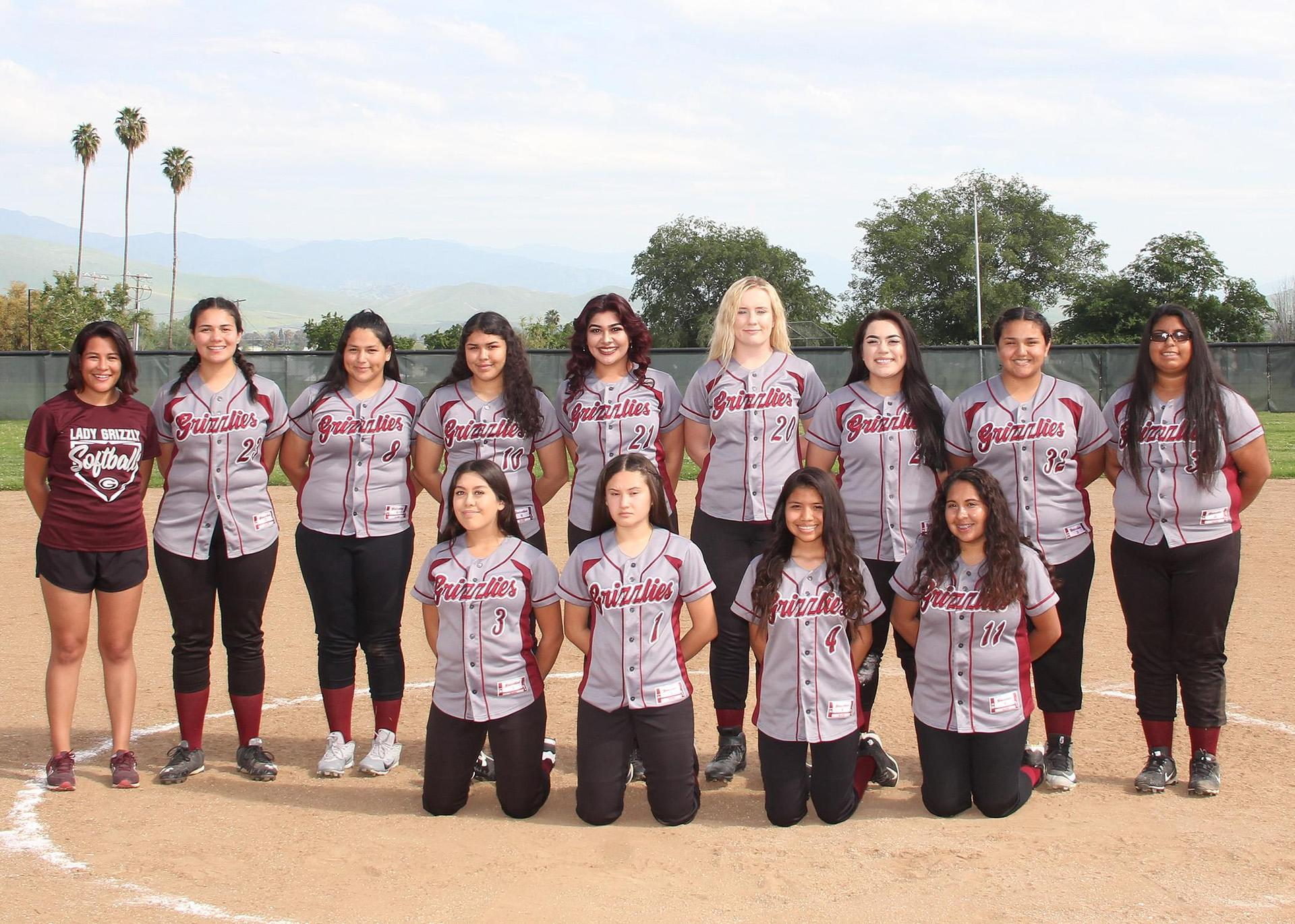 JV Girls Softball