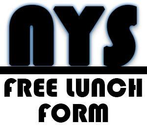 NYS Free Lunch Form