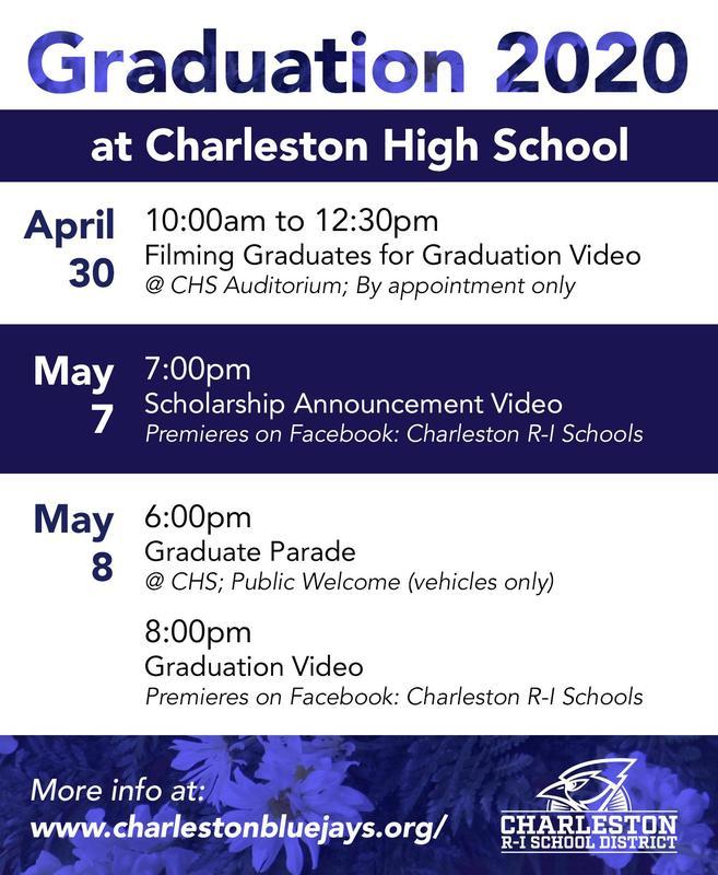 Graduation 2020 graphic