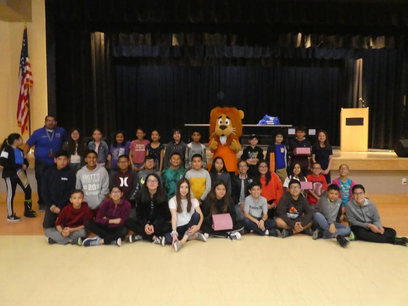 Congratulation to Mr. Olivares' class for earning 99% attendance for the 7th month of school! Thumbnail Image