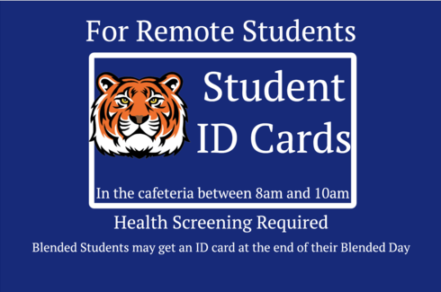 Tiger image with ID Card information