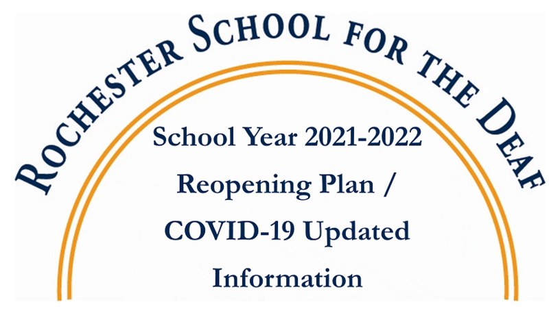 School Year 2021 2022 Reopening Plan Logo