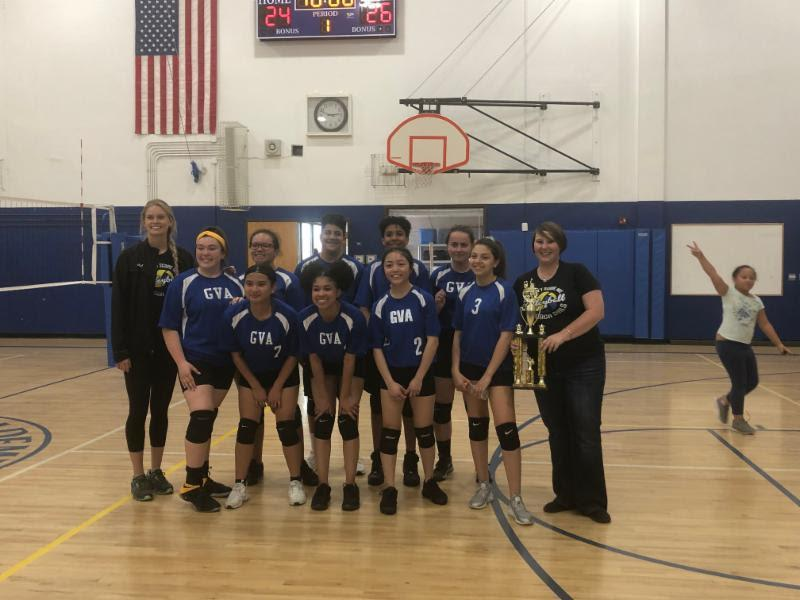 Royal co-ed volleyball team