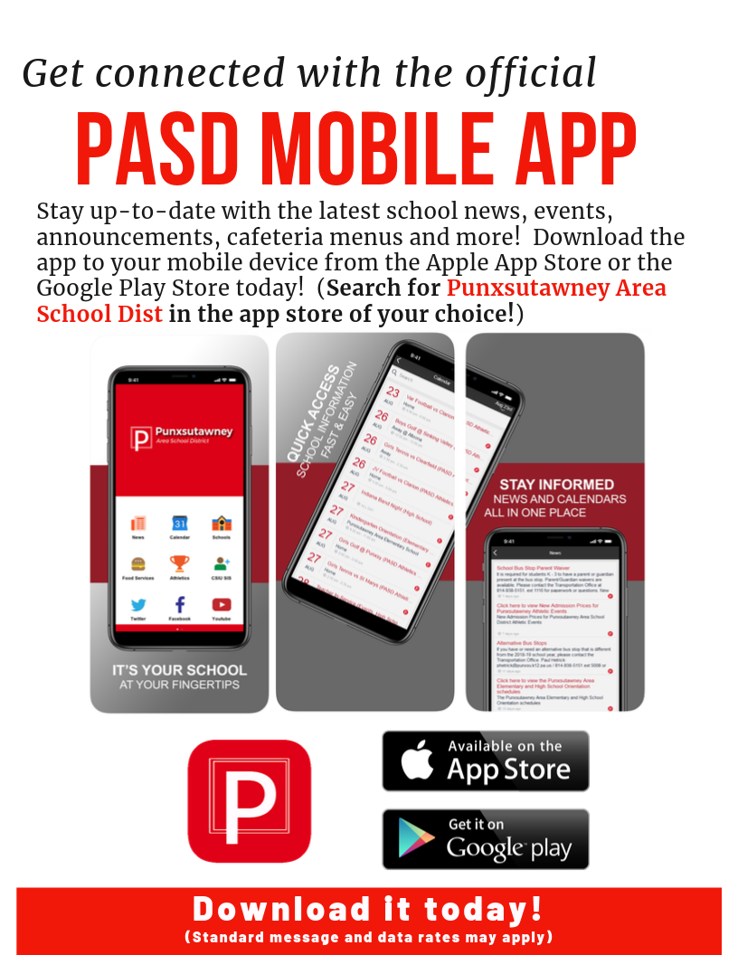 PASD Mobile App Advertisement