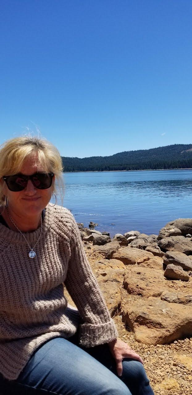 Mrs. Spooner and the Lake!