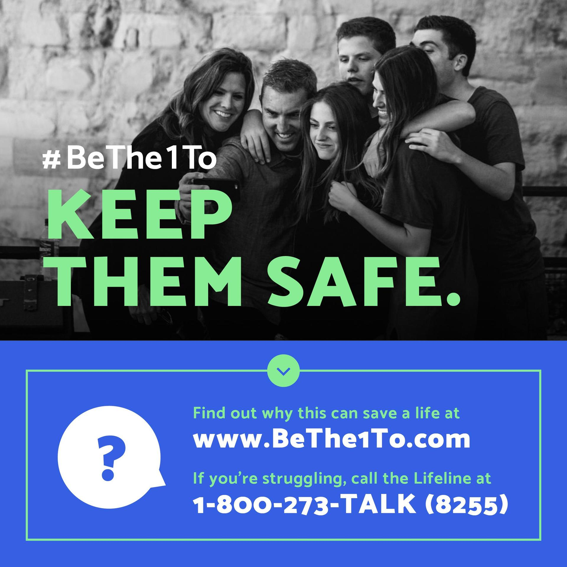 Be the one to Keep them safe