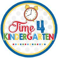Time for Kindergarten image with clock