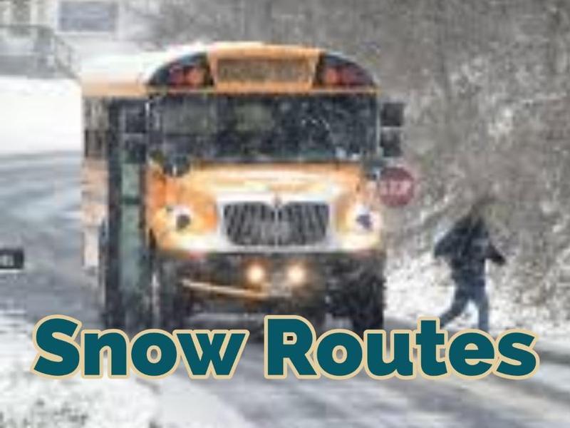 Bus Snow Routes---2019/2020 Thumbnail Image