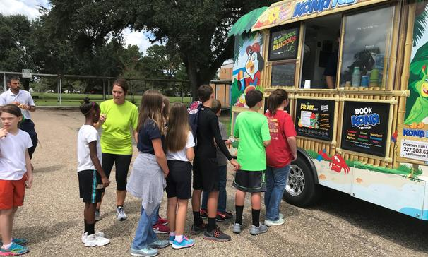 PBIS Reward with Kona Ice