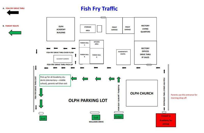 Fish Fry Traffic Map