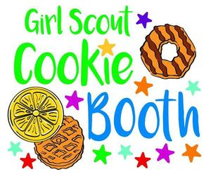 Girl Scout Cookie Booth