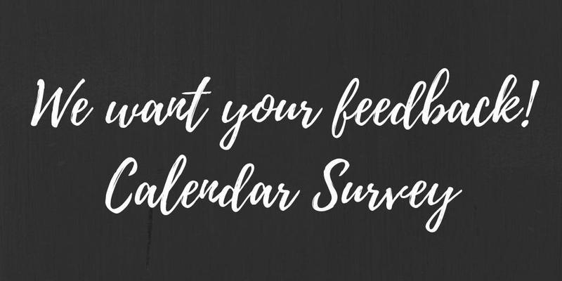 Calendar Survey Thumbnail Image