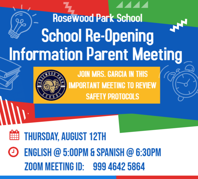 information meeting for parents