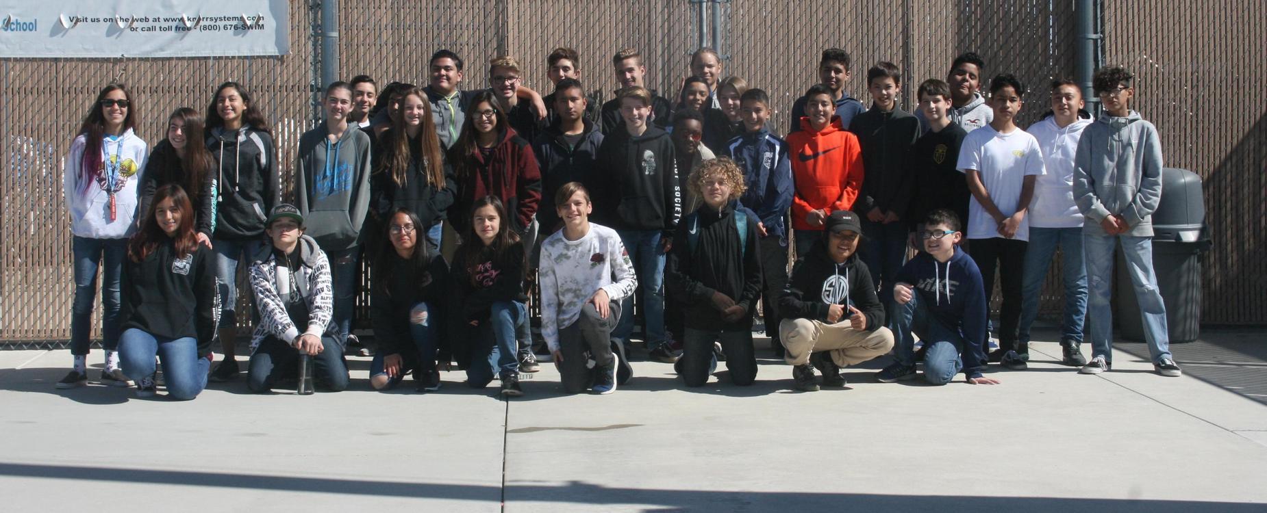 SeaPerch Students