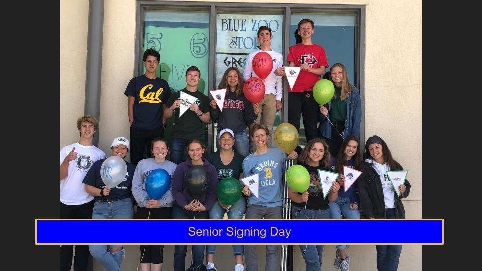 Senior Signing Day