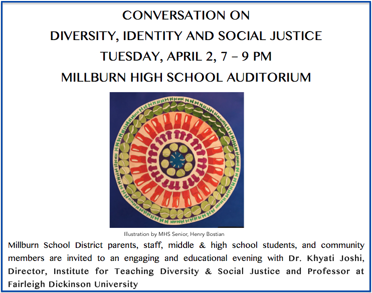 Program Flier for Diversity Presentation 4/2/19