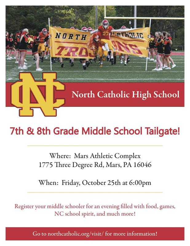 Middle School Tailgate