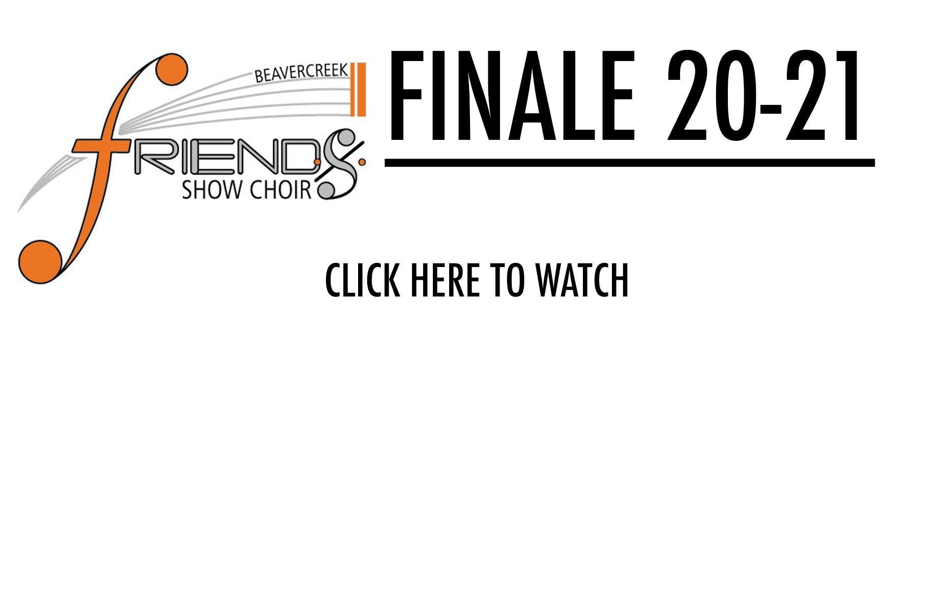 Friends Show Choir Finale