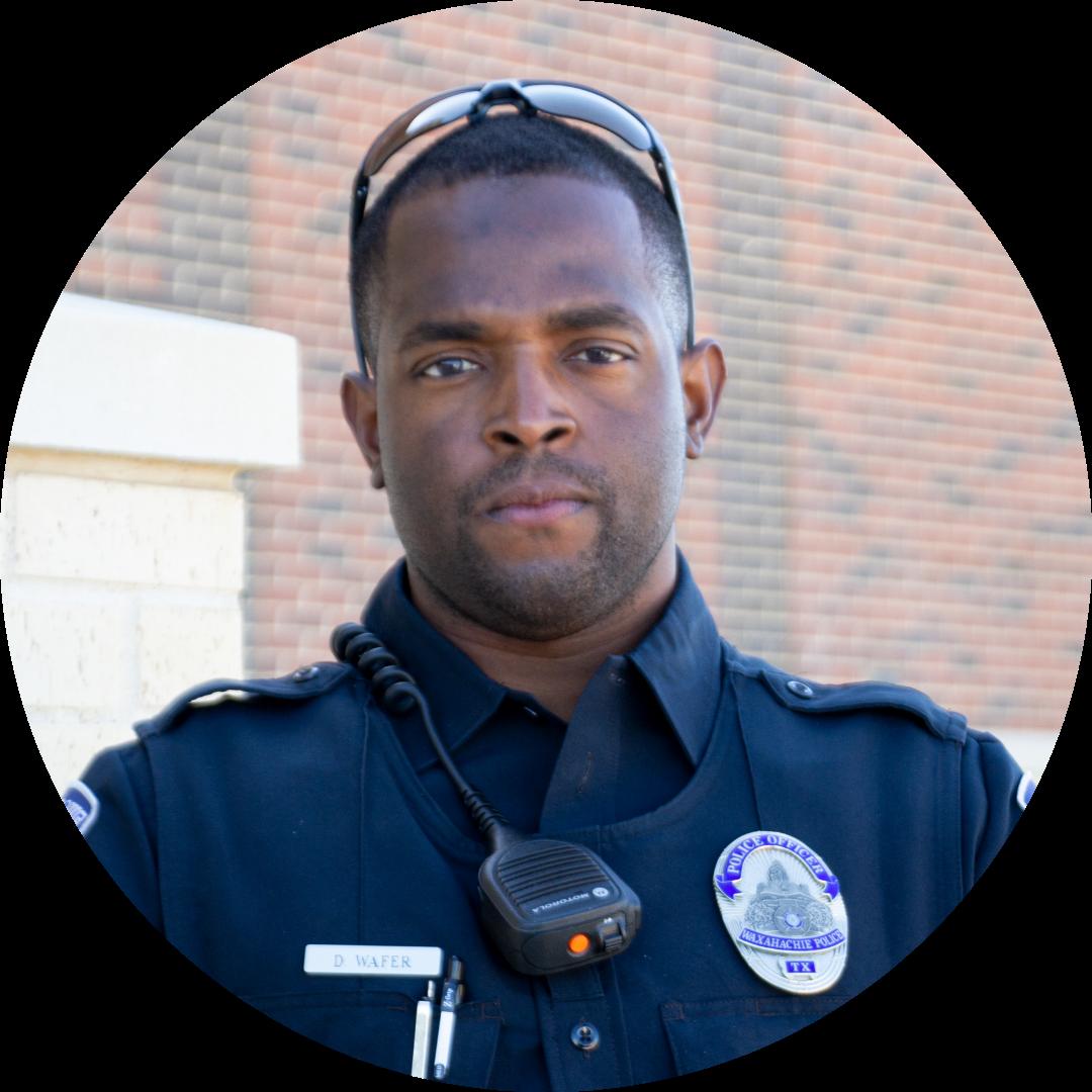 headshot of officer wafer
