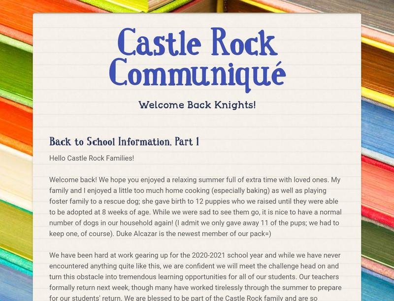 School Reopening Details Featured Photo