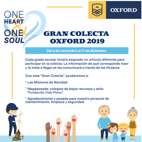 Gran colecta Oxford 2019 Featured Photo