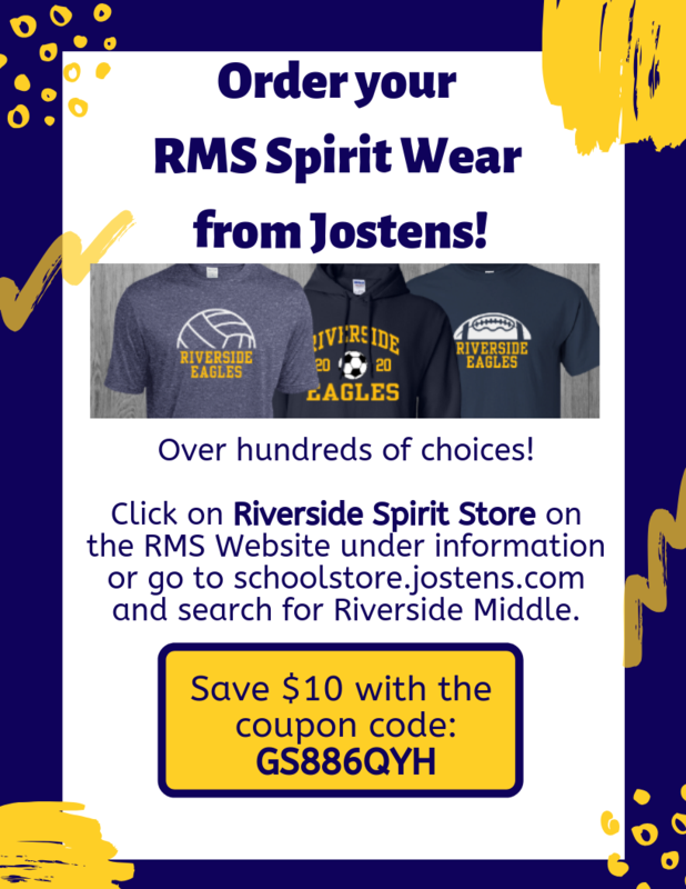 Order RMS Spirit Wear today and save $10! Featured Photo