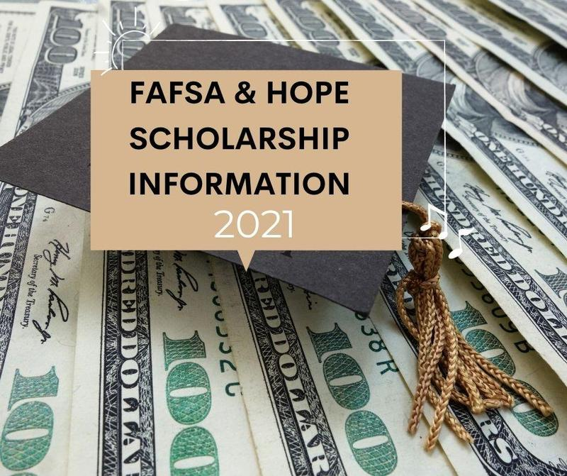 FAFSA and Hope Scholarship information