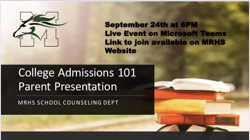 Virtual College Admissions 101