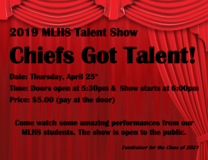 Chiefs Got Talent flyer