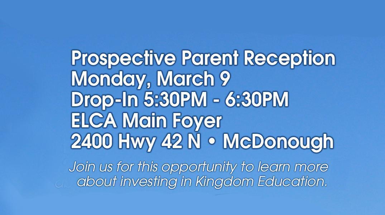Prospective Parent Reception Image