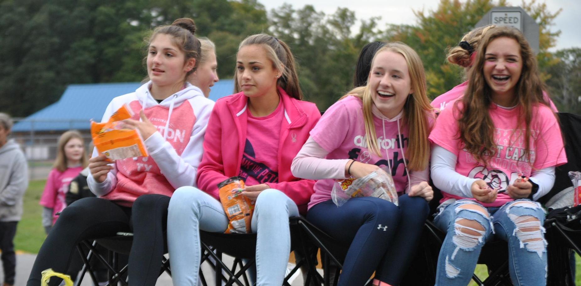 KHS Girls Soccer in parade