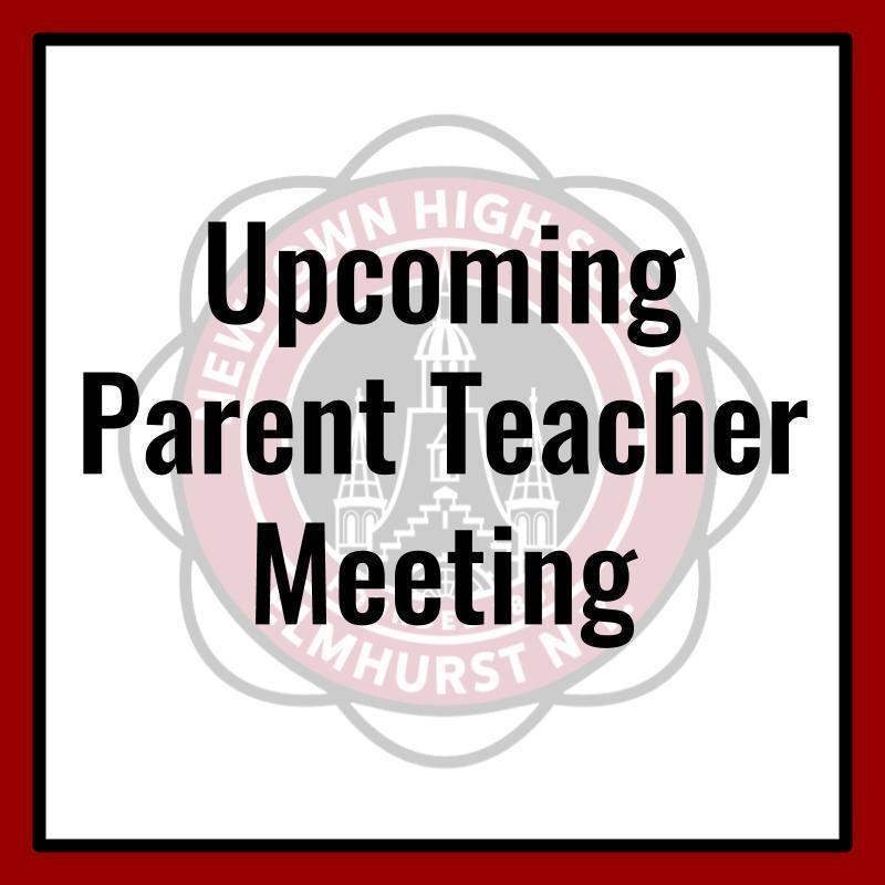 Upcoming Parent Teacher Meeting Photo
