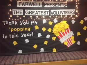 Volunteer bulletin board