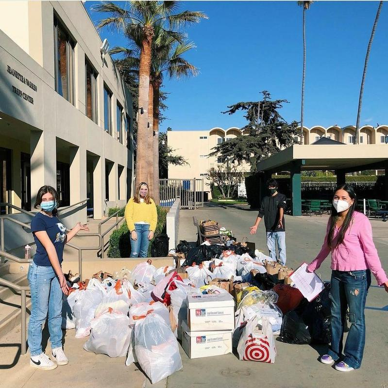 Thrift for Change Club Drive-Thru Clothing Drive Featured Photo