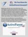 ActiveParent Account