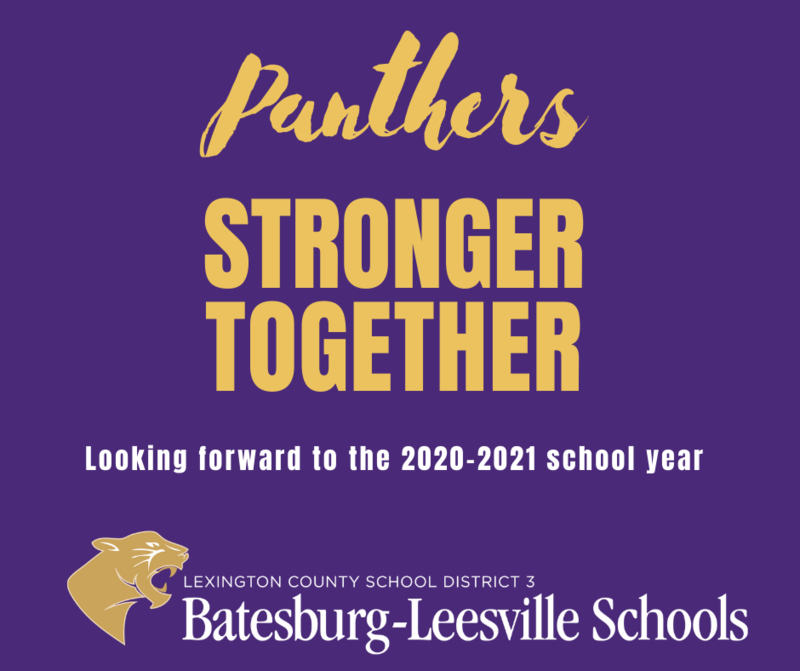 Lexington Three Plans for 2020-2021 School Year