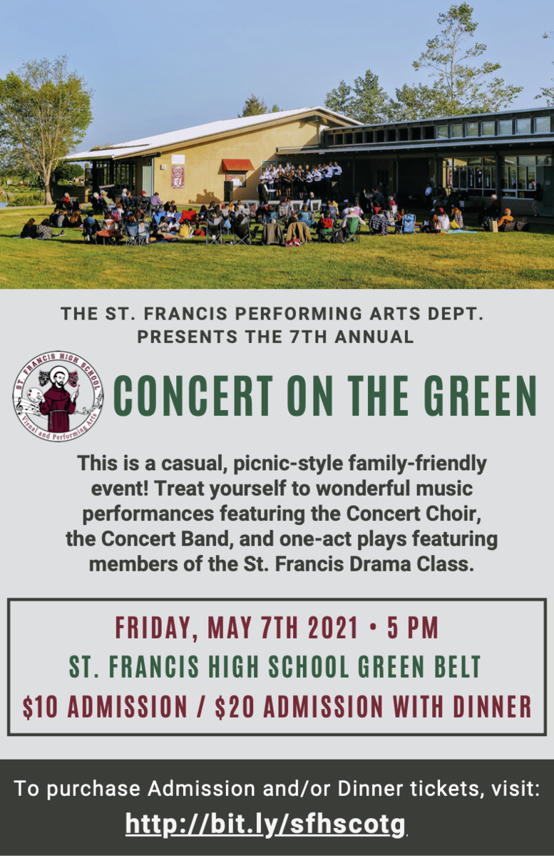 Concert on the Green Ad