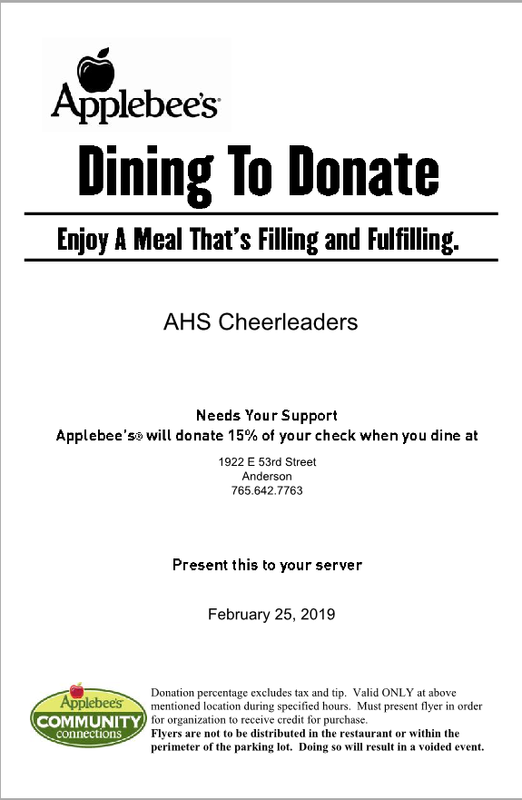 Applebees Dining To Donate Thumbnail Image