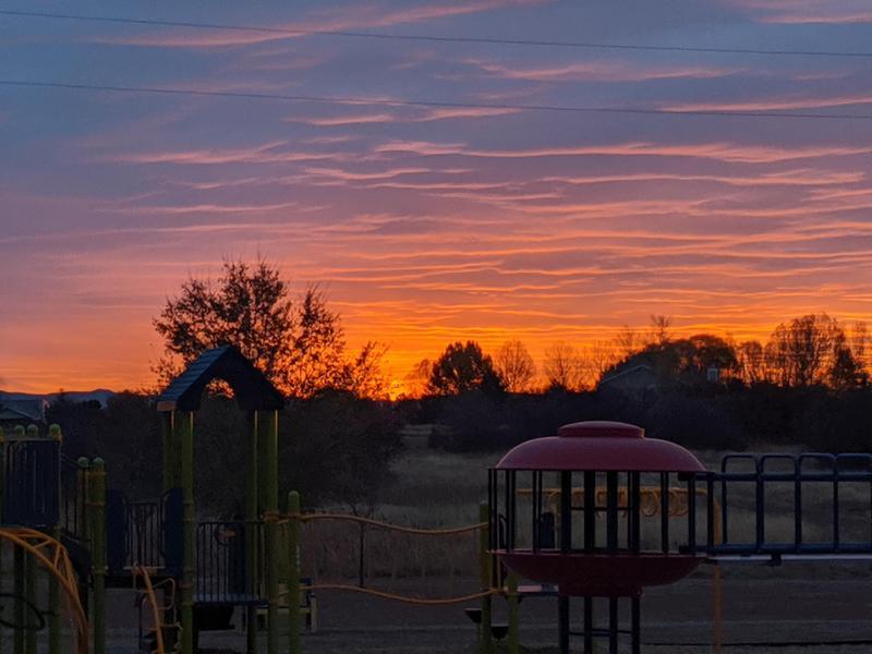 sunrise at FME
