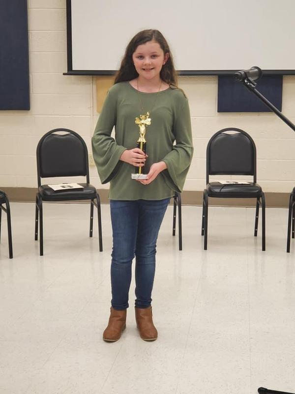 Camryn Horton Spelling Bee 1st Runner Up ! Featured Photo